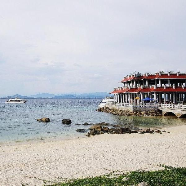 蜈支洲海岛码头
